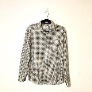 BEN SHERMAN Soho Slim Fit Button Down Shirt Sz L
